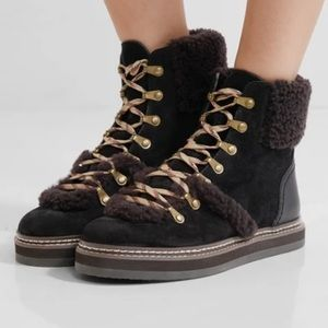 Brand new See by Chloe hiking booties